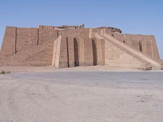 Ziggurats 6th century BC
