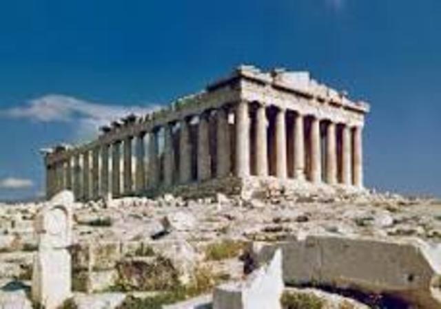 Parthenon     447 BC