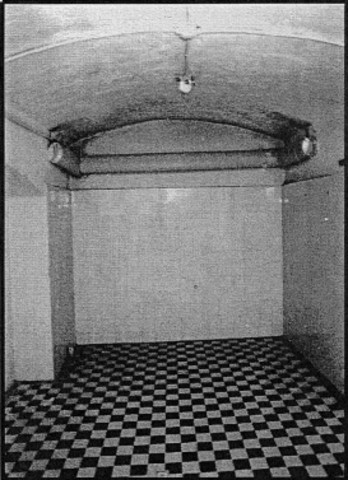 The first gas chamber is used to killed handicapped patients at Brandenburg.