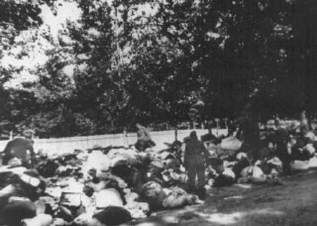 Einsatzgruppen (mobile killing units) given orders to exterminate Jews during the Soviet invasion.
