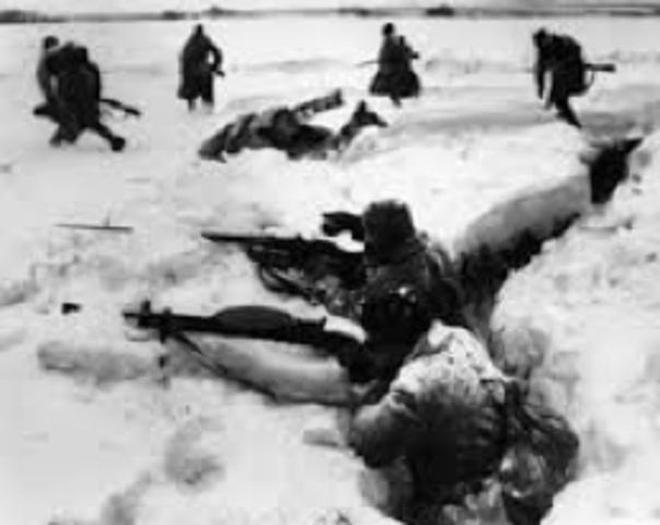 Soviet winter counteroffensive