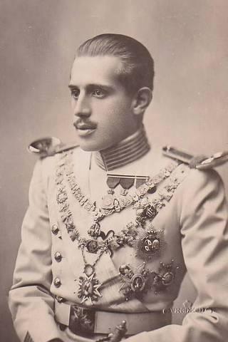 Crowning of Charles XVIII