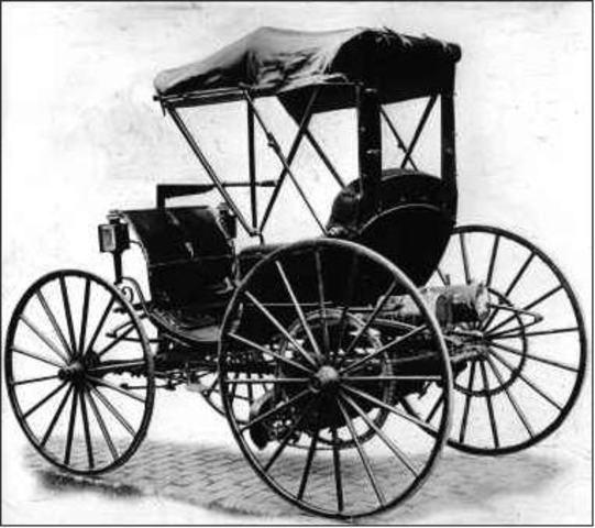 Karl Benz inventa el Automóvil con motor de combustión