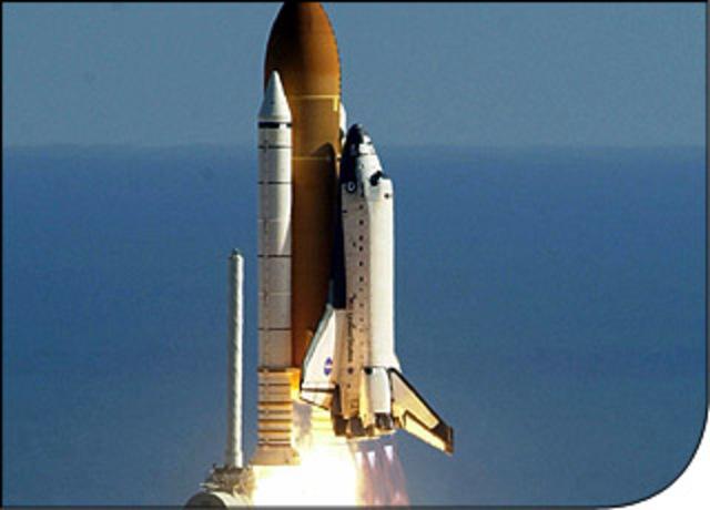 Trasbordador Espacial Columbia,nueva tecnologia en el espacio (USA)