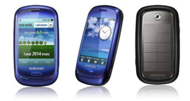 Samsumg revela el primer telefono con tecnología solar