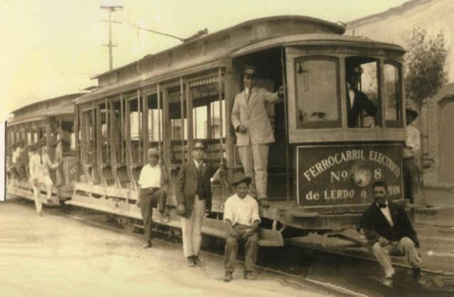 Tranvía Eléctrico invención de Thomas Davenport