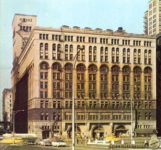 Auditórium Building, Louis Henry Sullivan