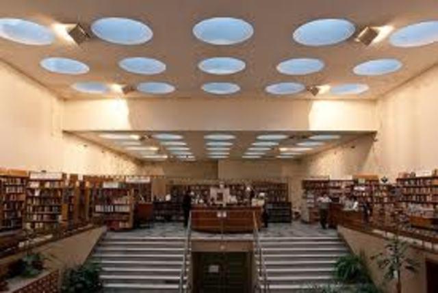 Biblioteca de Viipuri, Alvar Aalto