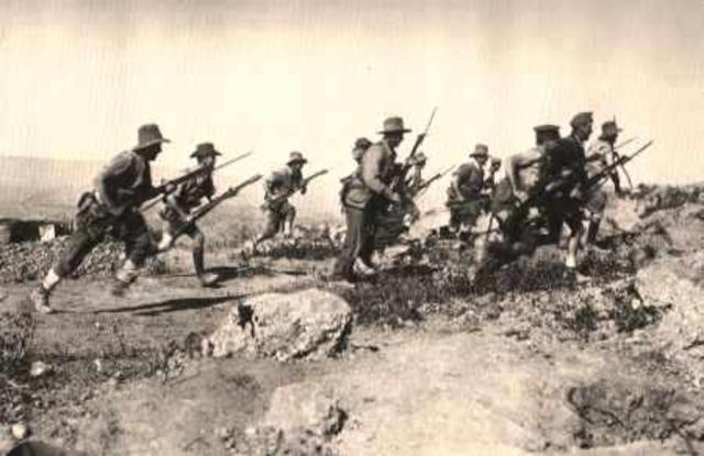 Battle of Lone Pine in Gallipoli