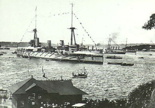 Australia arrives at the German Colonies(Asia/Pacific Theatre)