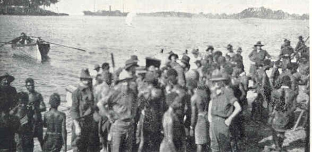 Nauru surrendered(Asia/Pacific Theatre)