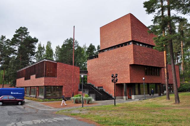 Ayuntamiento de Säynätsalo, Alvar Aalto