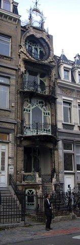 Maison Saint-Cyr, Gustave Strauven
