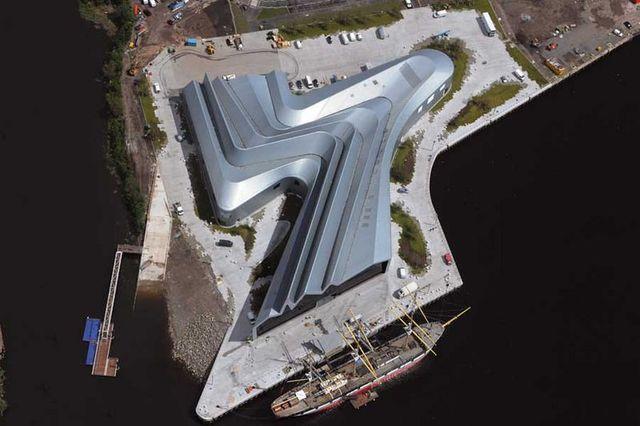 Museo Riverside del Transporte, Zaha Hadid