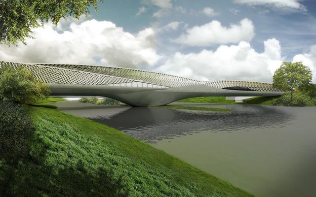 Pabellón Puente Expo'08, Zaha Hadid