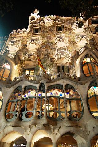 Casa Batlloó, Antonio Gaudí