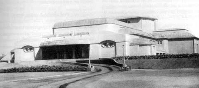 Teatro Exposición Werkbund, Henry van de Velde