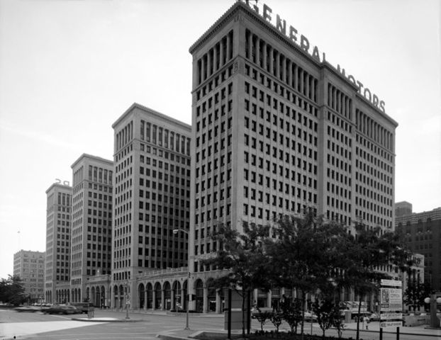 General Motors Building, Albert Kahn