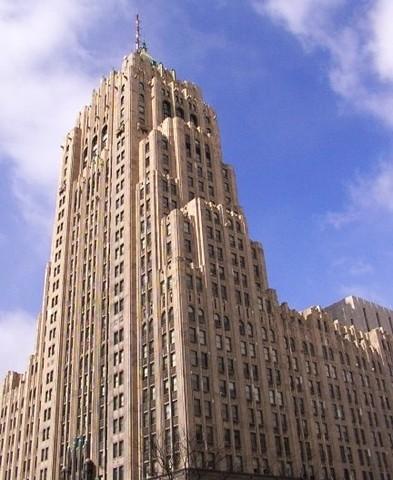 Fisher Building, Albert Kahn