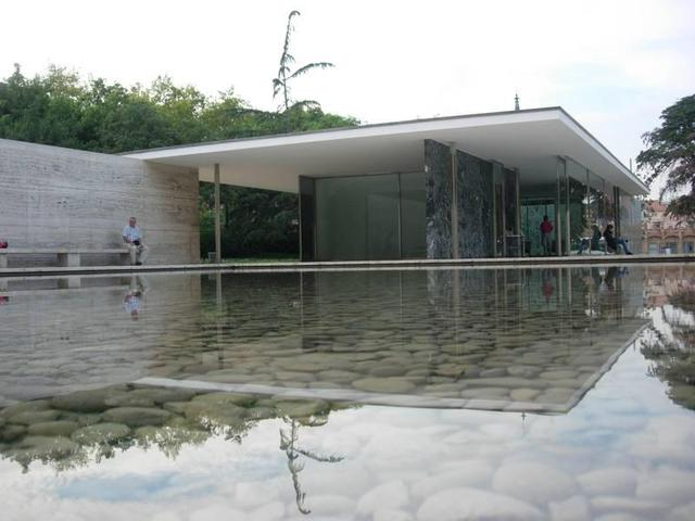 Pabellón Alemán en Barcelona, Ludwig Mies van der RoheLudwig Mies van der Rohe