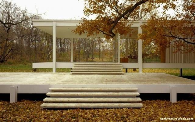 Casa Farnsworth, Ludwig Mies van der Rohe