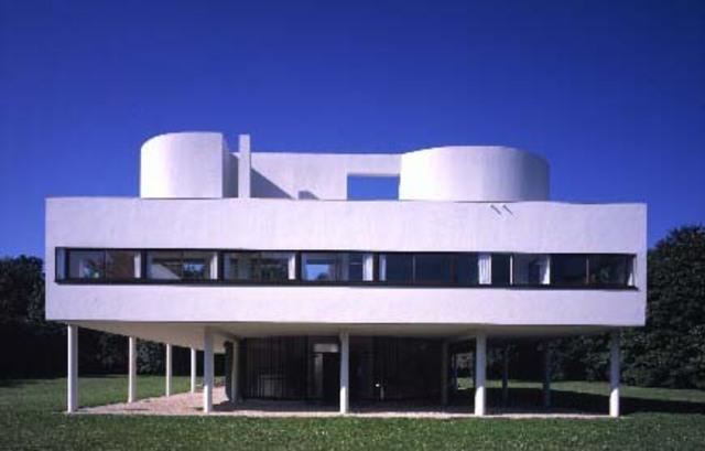 Villa Savoye, Le Corbusier