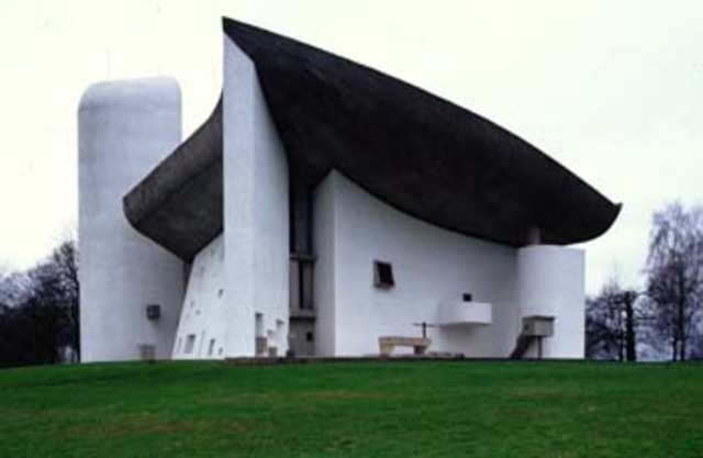 Capilla de Notre Dame du Haut, Le Corbusier