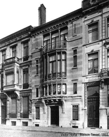 Casa Tassel, Victor Horta