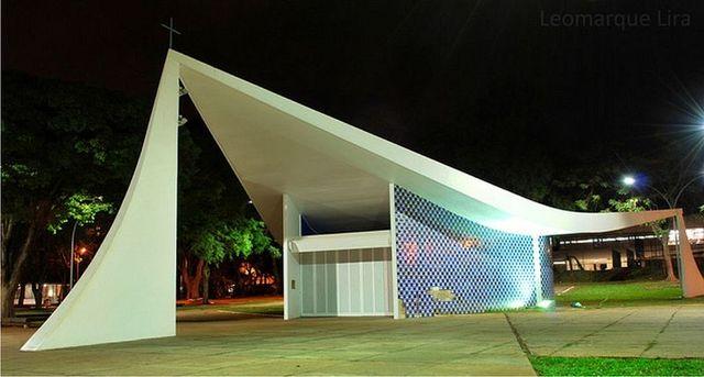 Capilla Nuestra Señora de Fátima, Óscar Niemeyer
