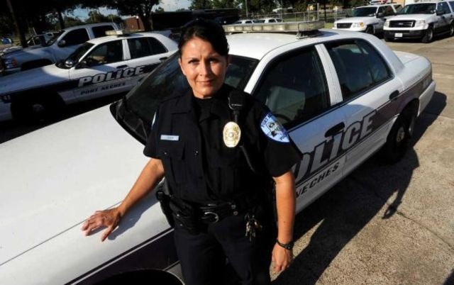 First female police oficer