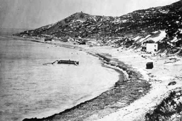 Australians withdraw from Gallipoli 9-20 December