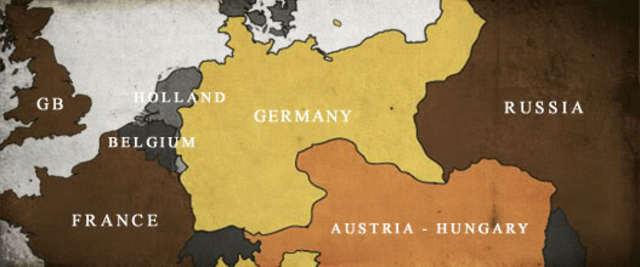 germay declares war on france