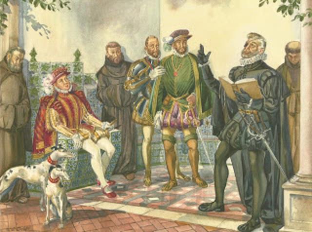 Leitura de «Os Lusíadas» a D. Sebastião