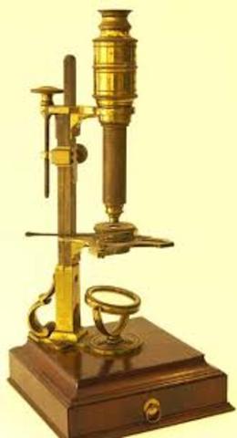 Invenció del microscopí