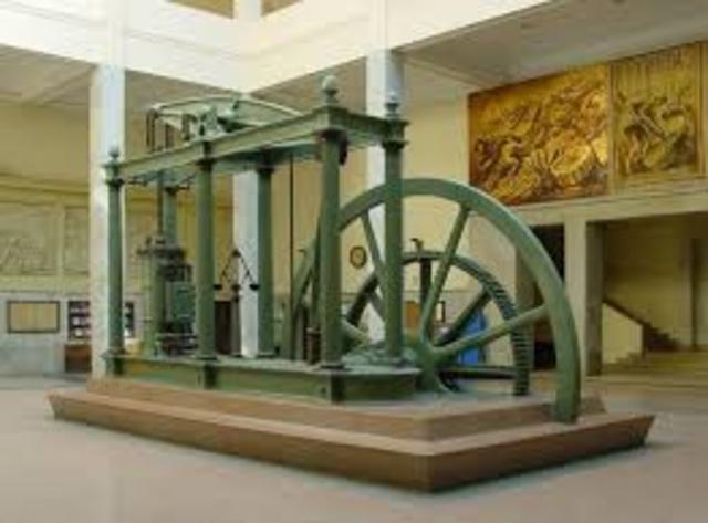Invenció de la màquina de vàpor