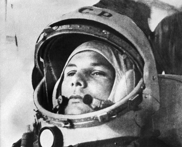 First Man to Orbit Earth