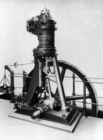 The First Diesel Engine