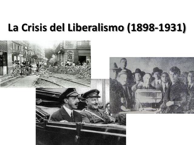 CRISI DEL LIBERALISME