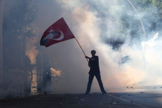 Turkey enters the war on the side of Germany