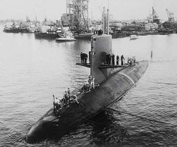 Germany's unrestricted submarine warfare campaign starts