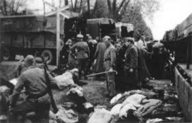 The first killing operations begin at Chelmno in occupied Poland