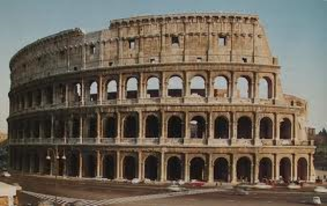 roman colosseum 70s bc