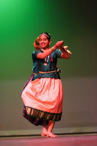 my first Indian Classical dance performance