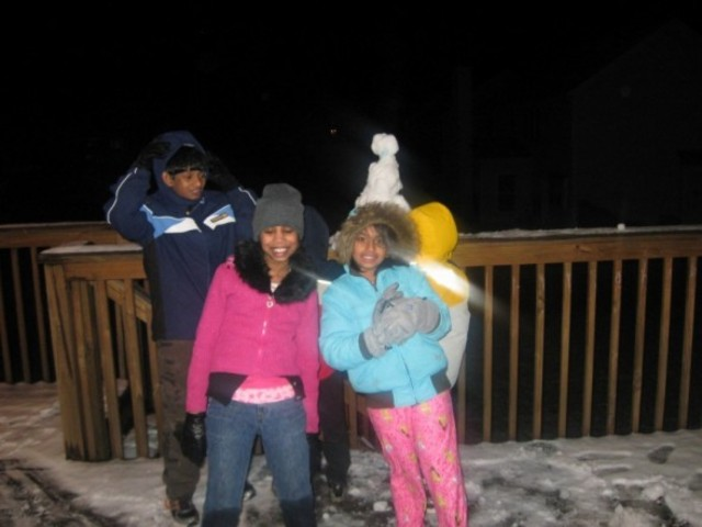 Trip to Atlanta and enjoyed snow with my friends