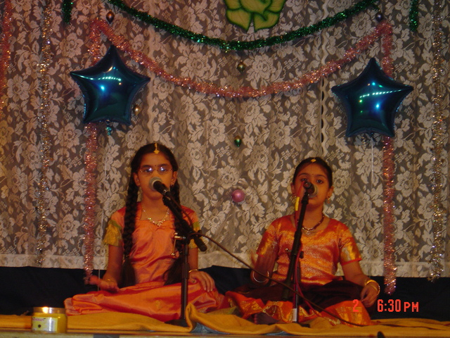 my first Indian classical music performance