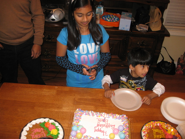 9th Birthday was a surprise one!!