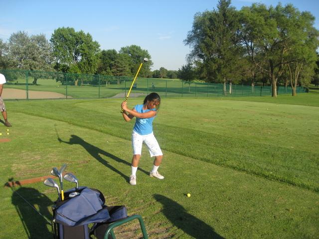 Started having fun playing Golf