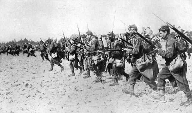 Germany declares war on France.