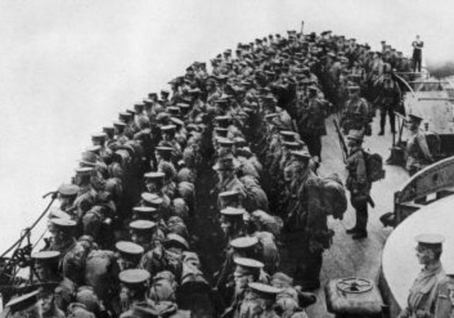 First batch of Australian and NZ troops depart