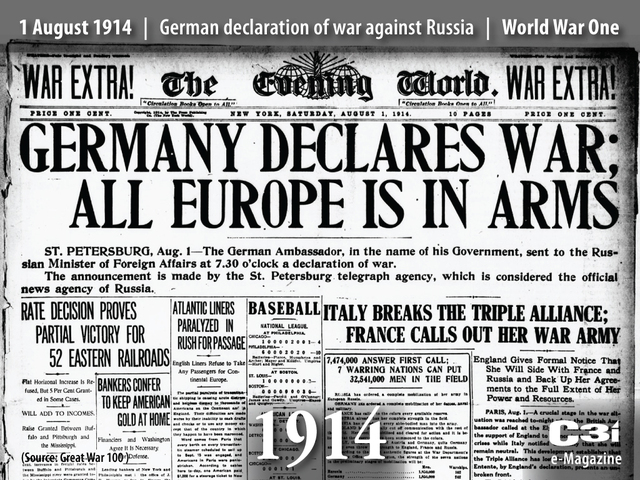 Germany decares war on nations